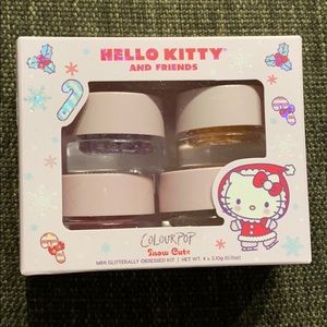 NEW Colourpop Hello Kitty Mini Glitter Set